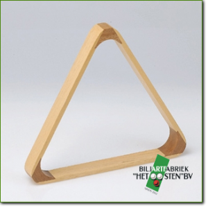 Triangle - hout naturel